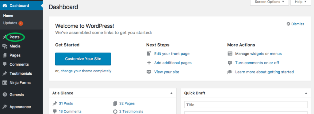 How to Create a New Blog Post in WordPress 2