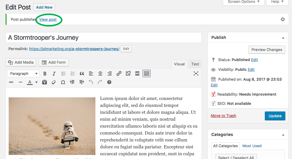 How to Create a New Blog Post in WordPress 21 copy