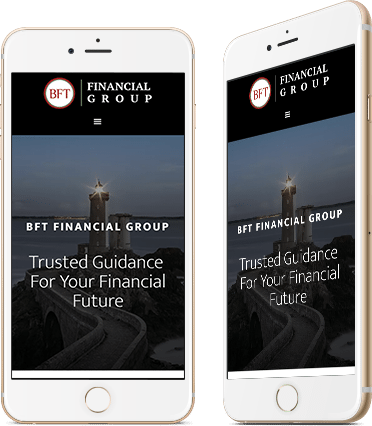 BFT Financial Group Mobile Device Screenshot