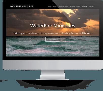 Waterfire Ministries Desktop Homepage