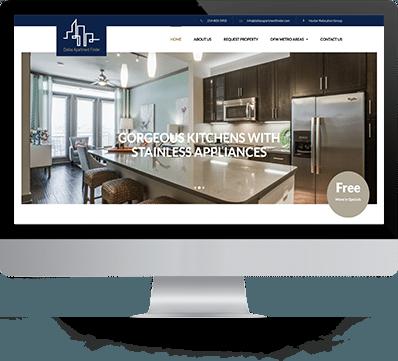 Dallas Apartment Finder Desktop Screenshot