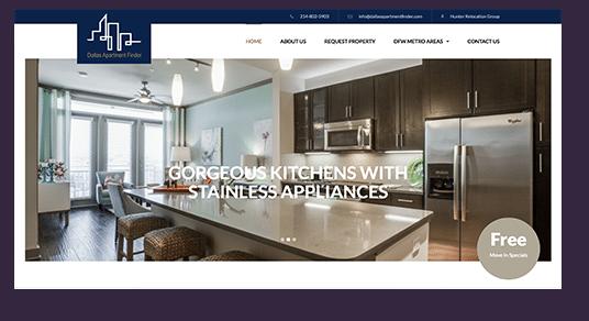 Dallas Apartment Finder Screenshot