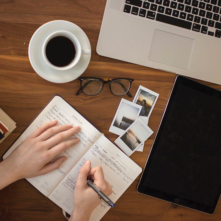 brand development hand writing