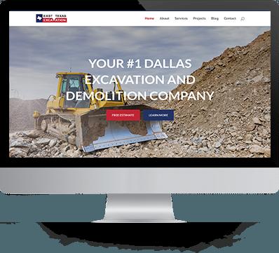 east texas desktop of website