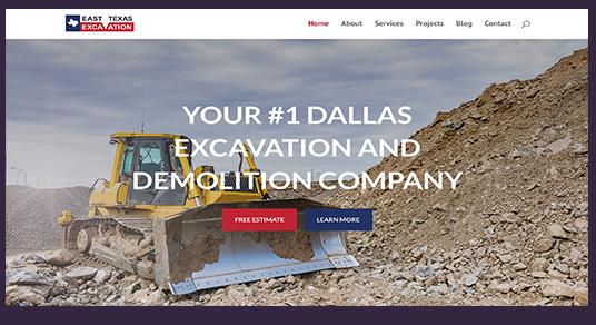 East Texas Excavation screenshot