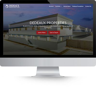 DeDeaux Properties desktop screenshot