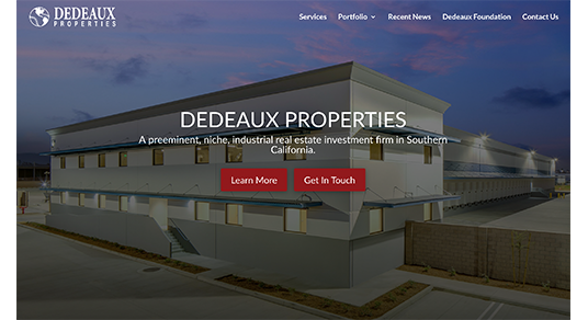 DeDeaux Properties Screenshot