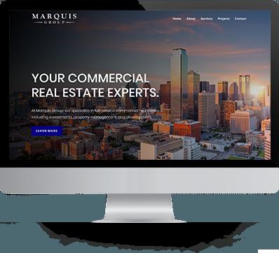 marquis desktop of website