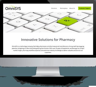 Omnisys Web Design Screenshot