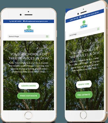 Texas Tree Surgeons mobile screenshot