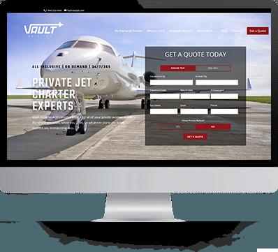 Vault Aviation Desktop Image