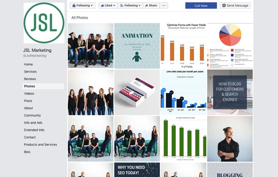 JSL Facebook Screenshot