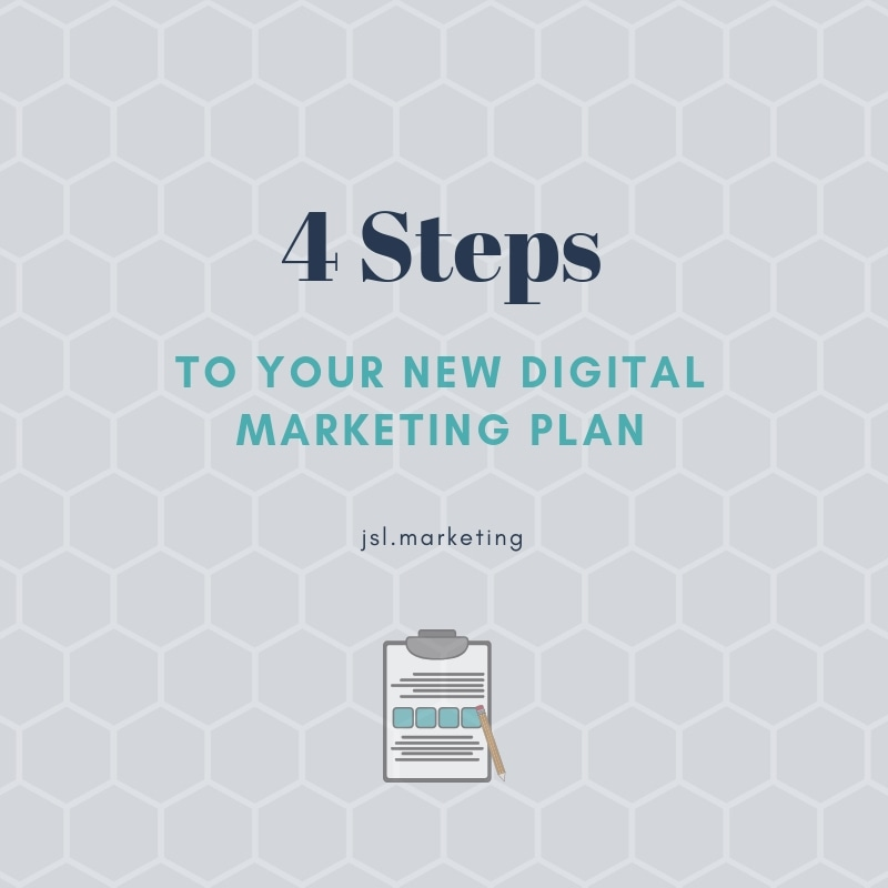 New Digital Marketing Plan Graphic