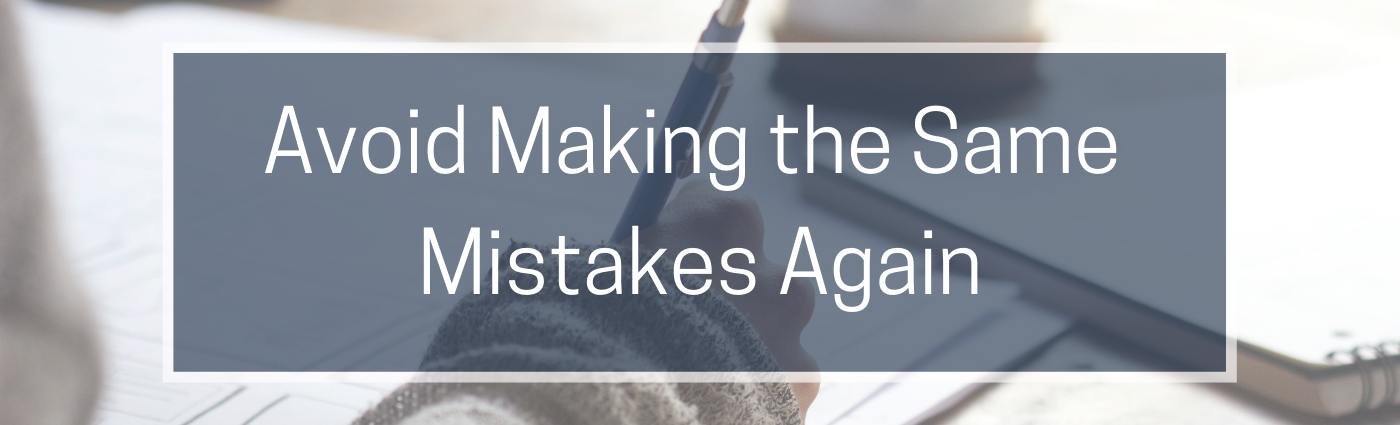 Avoid making the same content mistakes graphic