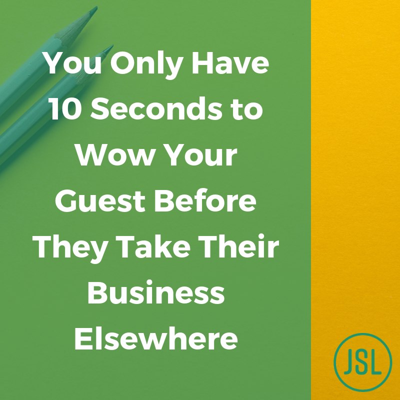 Wow a guest with your marketing business graphic