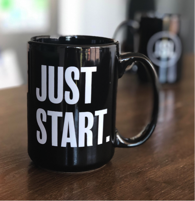 JSL Marketing Just Start Mug