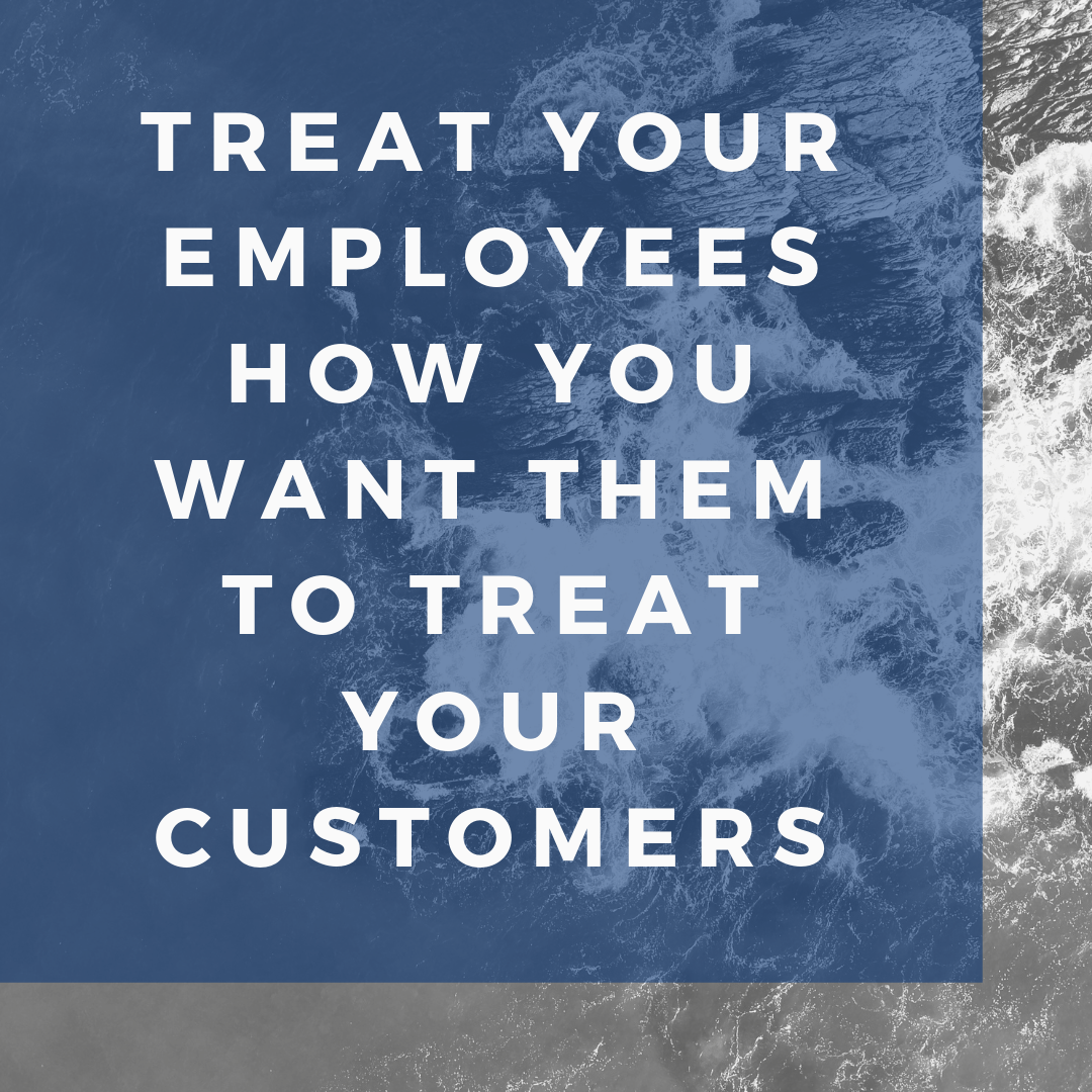 Treat employees well graphic
