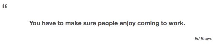 Enjoy Marketing Work Quote