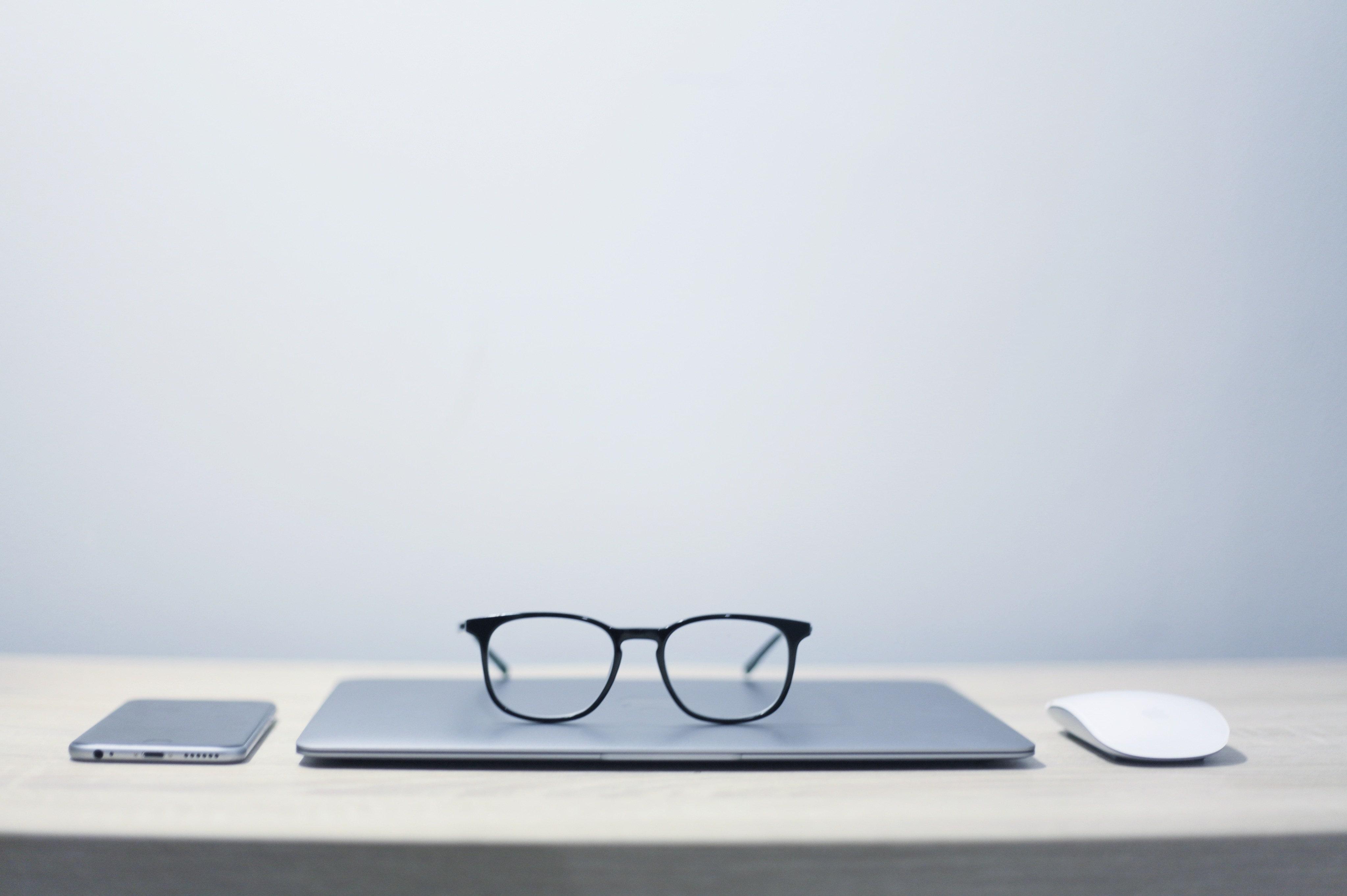 SEO Analytics on a laptop
