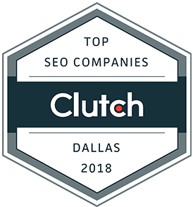 Clutch Top SEO Companies Dallas 2018