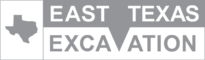 East Texas Excavation Business Logo