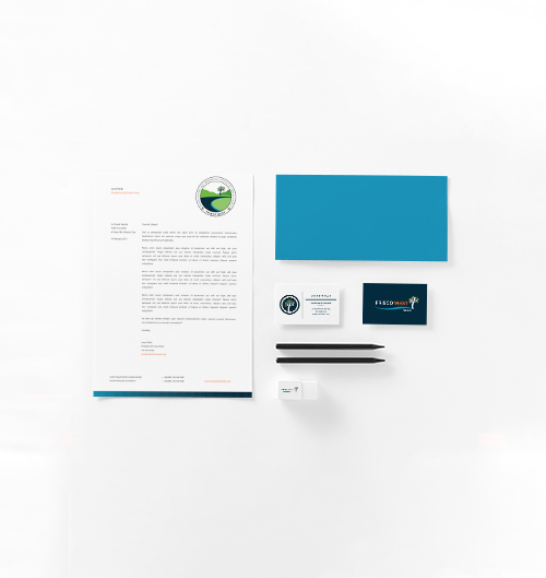 Frisco West Branding Stationery Mockup