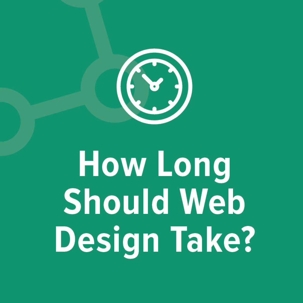 How long should web design take graphic