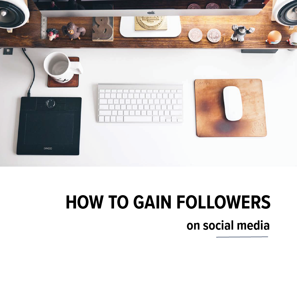 How to gain followers on social media ebook cover
