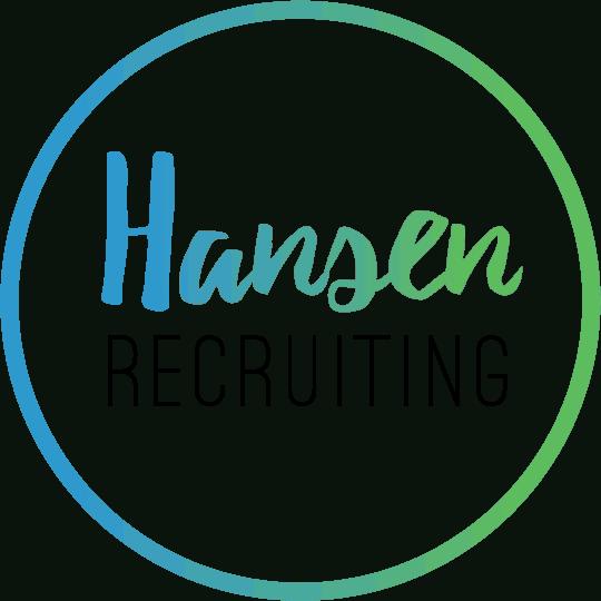 Large Color Hansen Recruiting Logo