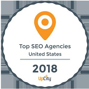 Upcity Top SEO Agencies 2018 Badge