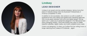 Lindsey Bio Photo and description