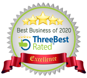 Best Business of 2020 Award Badge