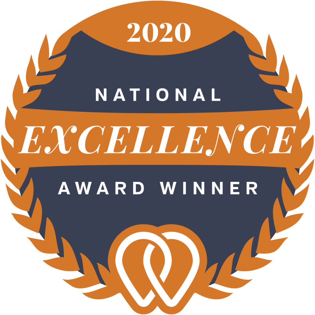 2020 UpCity National Excellence Award Badge