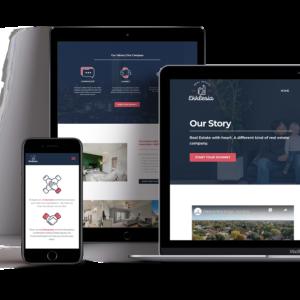 Ekklesia Real Estate Web design Mockup