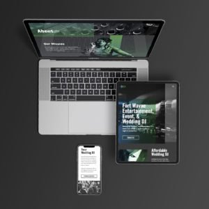 JA Productions Web Design Flatlay