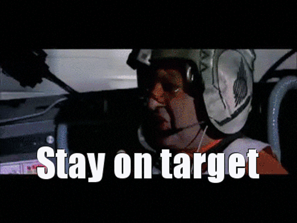 stay on target gif
