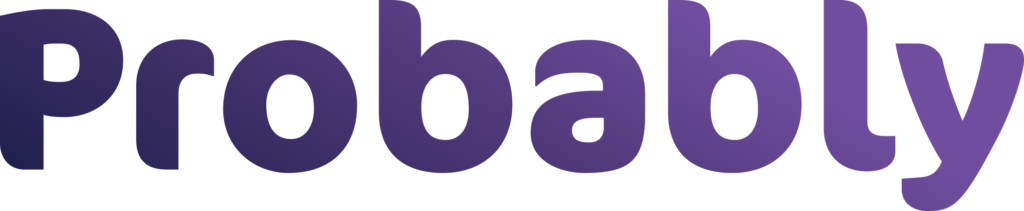 Probably Purple business Logo