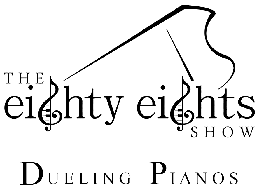 Eighty eights show logo design