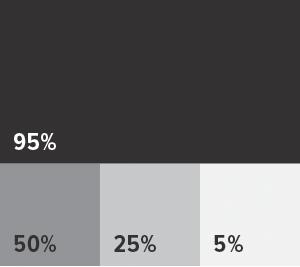 web design percentage graphic