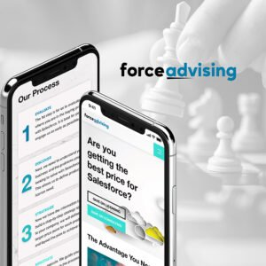 force advising mobile website design